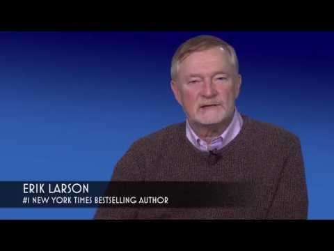 Author Erik Larson on DEAD WAKE: The Last Crossing of the Lusitania