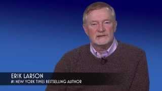 Author Erik Larson on DEAD WAKE: The Last Crossing of the Lusitania
