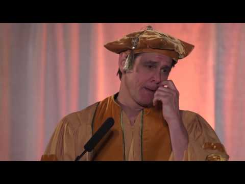 Jim Carrey's funny, motivational and heartfelt commencement speech