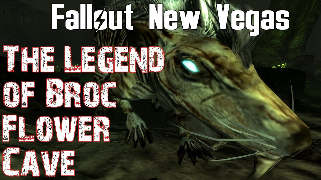 Fallout New Vegas The Legend of Broc Flower Cave