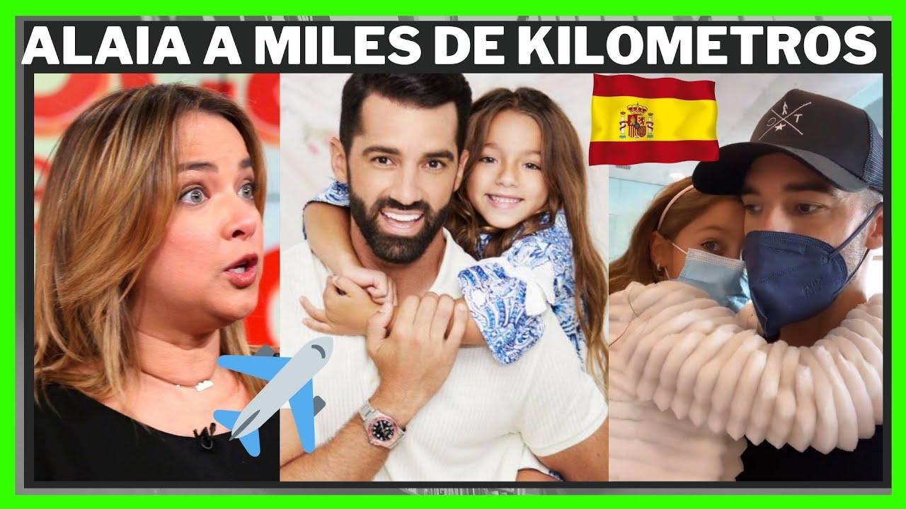 Toni Costa Recoge Sus Maletas y Se Marcha A España Con Alaïa Sin Adamari López El Dia Del Padre