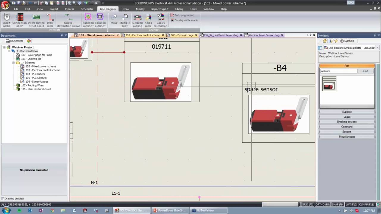 Creating Symbols In Solidworks Electrical Youtube