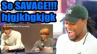 When BTS is so done with ARMY (So Savage WOW) | Reaction!!!
