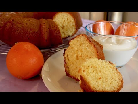 gÂteau-au-yaourt-et-À-l'orange-||-recette-facile-et-rapide