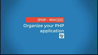 Organize your PHP application