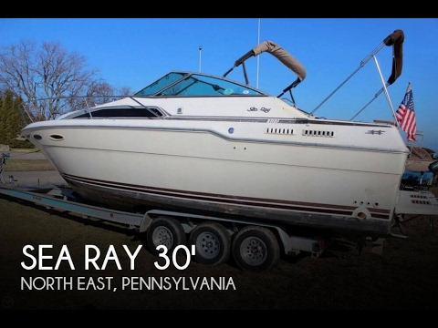 [UNAVAILABLE] Used 1986 Sea Ray SRV 300 Weekender in North East, Pennsylvania