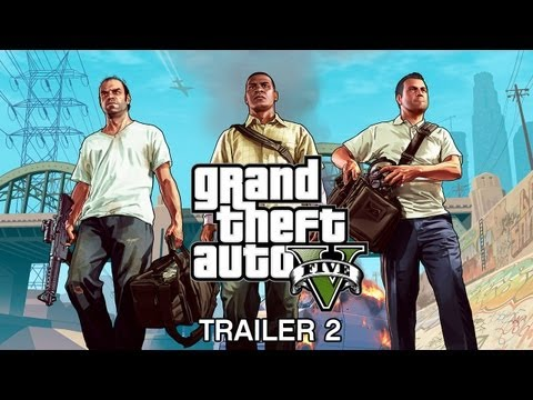 Grand Theft Auto V: trailer oficial 2