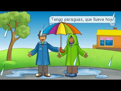 La ropa Spanish clothing song for children weather & activities too!