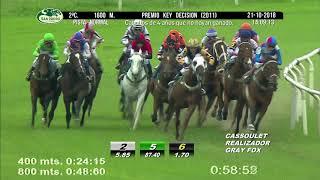 Vidéo de la course PMU PREMIO KEY DECISION