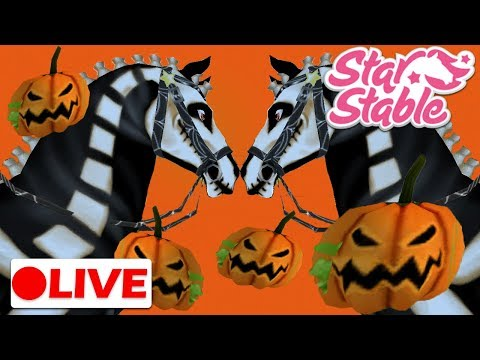 🔴  Happy Halloween! Halloween SSO Events Live! | Star Stable Live Stream