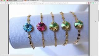 My Jewelry Line: La Belle Etoile  مجوهرات من تصميمي : النجمة الجميلة
