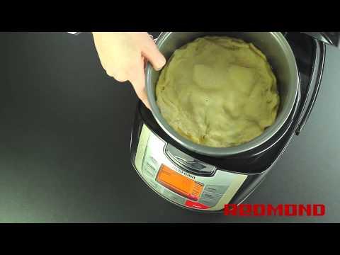 Пирог с яблоками в мультиварке REDMOND RMC-M4502
