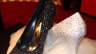 Scarpe sposa e sera di CARMELA SCARPA AL BLACK & WHITE LUXURY SHOW