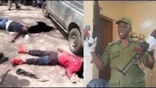 BREAKING: JESHI LA POLISI KIGOMA LIMEWAUWA MAJAMBAZI