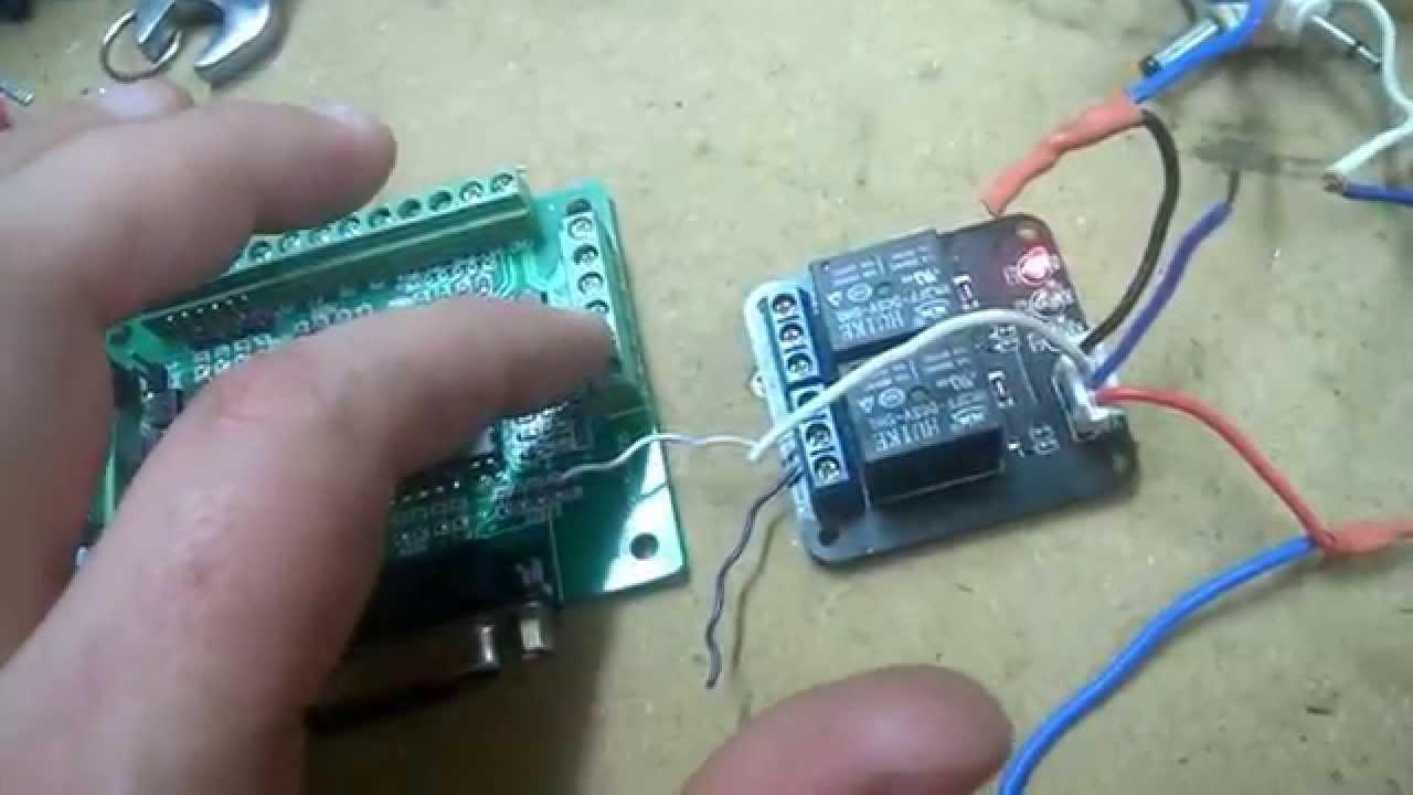 Cnc Db25 Breakout Board Wiring