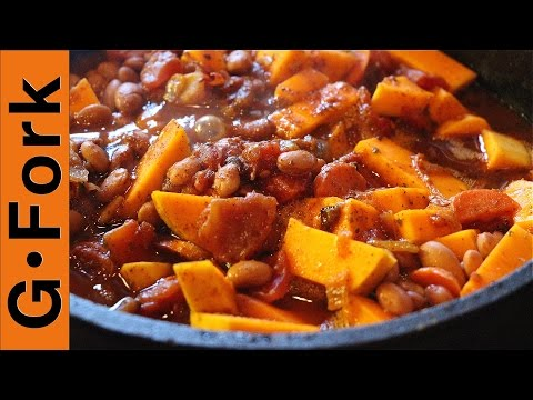 Best Vegetarian Chili Recipe - GardenFork.TV