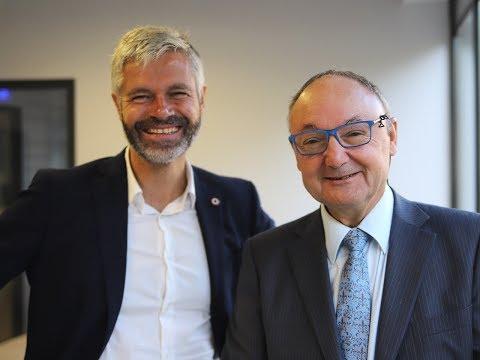 """Laurent Wauquiez : """"Auvergne-Rhône-Alpes Est Clairement La Région La Mieux Gérée"""""""