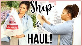 SHOP WITH ME + HAUL | JCPENNEY FATHER