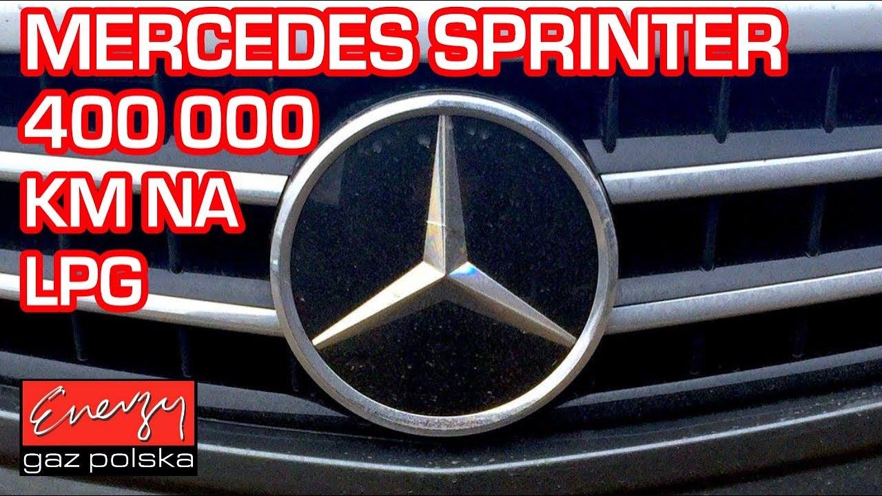 400 TYS. KM NA LPG!!! Serwis Mercedes Sprinter Kompressor na auto gaz w Energy Gaz Polska