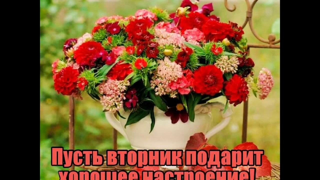 Цветок из бумажного круга