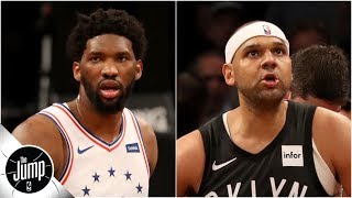 Joel Embiid calls Jared Dudley a 'nobody,' and Byron Scott has thoughts | The Jump thumbnail