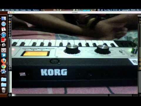 *synth cover* Finger Looser - Ingatan Masa Lalu microkorg XL