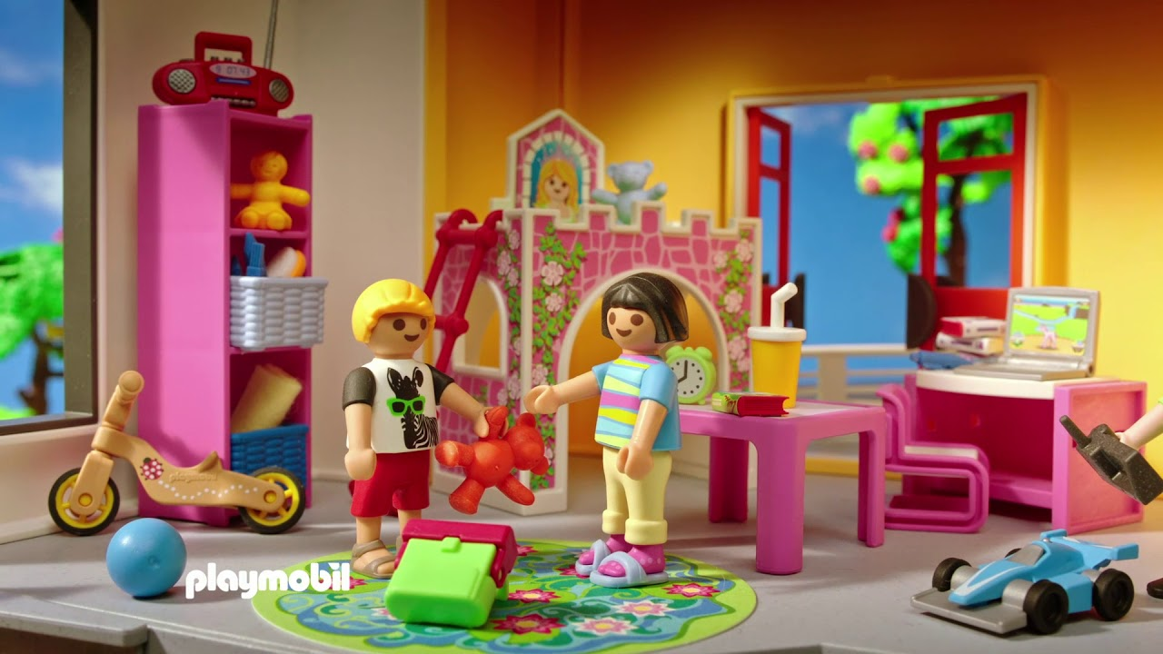 Playmobil Dollhouse Badezimmer | Nett Playmobil Dollhouse Küche ...