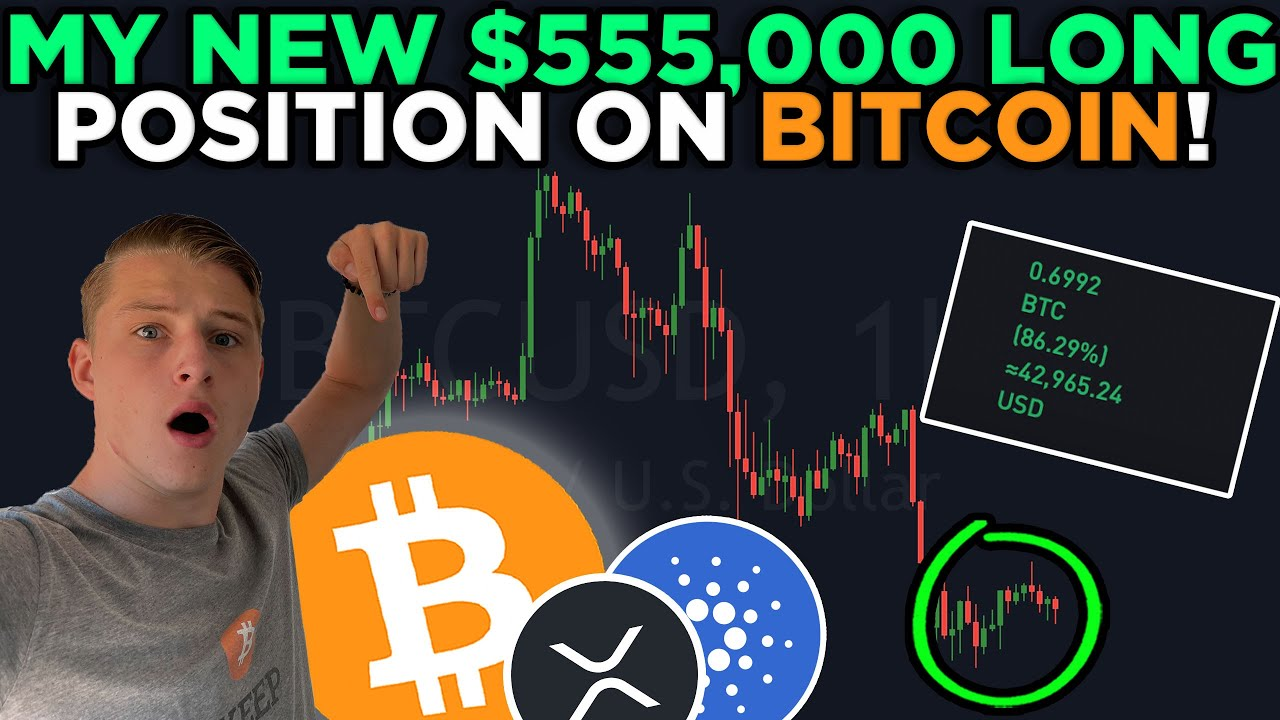 Download THIS IS WHY I OPENED A $550,000 BITCOIN LONG POSITION... + WEEKEND PRICE PREDICTIONS!