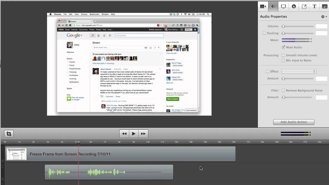ScreenFlow 3.0: Audio Enhancements - YouTube