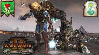 SCORPION QUEENS - Trials of Tzeentch - Total War Warhammer 2 Gameplay