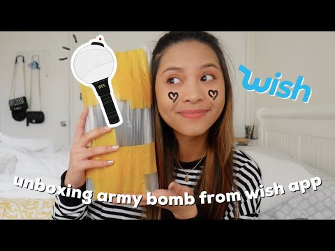 unboxing/review unofficial army bomb from wish (only $15!)