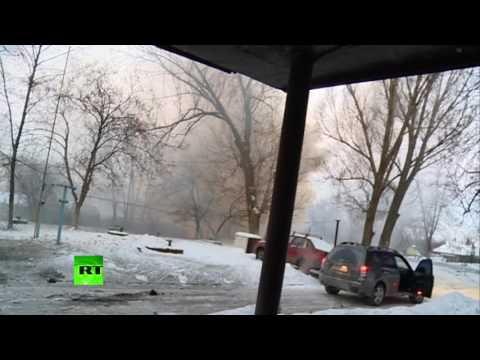 Стрингер телеканала RT попал под обстрел в Донецке