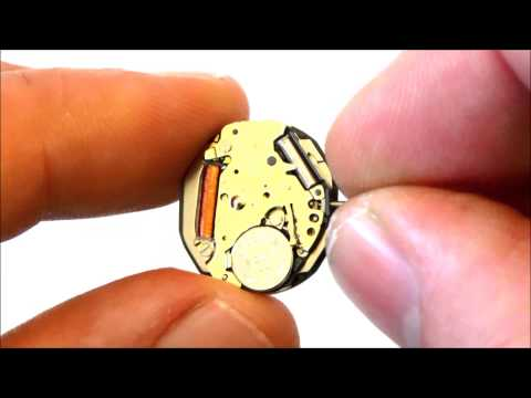 MIYOTA CO. / CITIZEN JAPAN 1L15 QUARTZ WATCH MOVEMENT WITH DAY & DATE 364 BATTERY