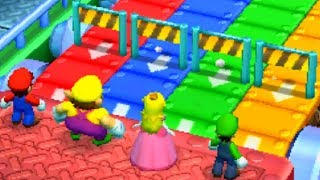 Mario Party Top 100 - MiniGame Battle - Mario vs Luigi vs Peach vs Wario