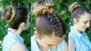 Fishtail Braided Bun | Bun Hairstyles | Braidsandstyles12