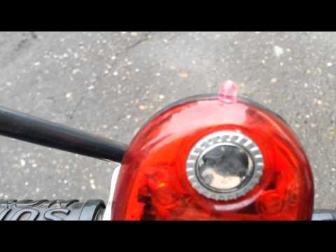 видео: Тюнинг велосипеда. Светодиодная лента.