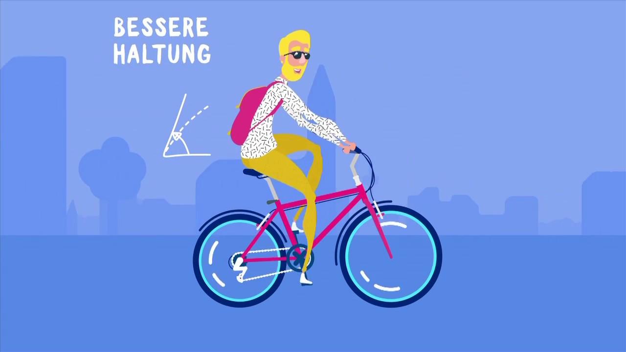 Neubau: das Fahrrad mit upcycled Rahmen. Made in Neubau, für