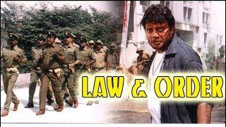 Law And Order Kannada Full HD Movie | Saikumar, Sarath Babu, Triller Manju