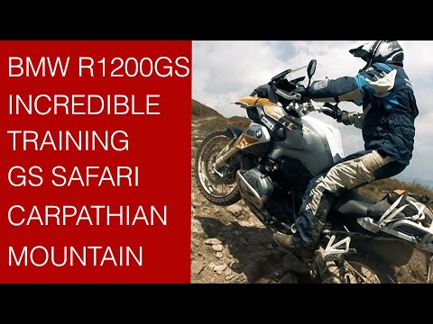 BMW GS Trophy Training 2017