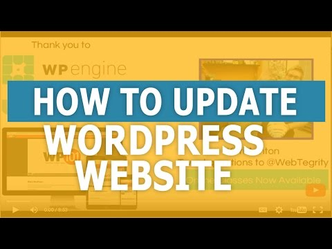 When and How to Update your WordPress Website