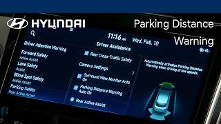 Forward/Reverse Parking Distance Warning | Hyundai