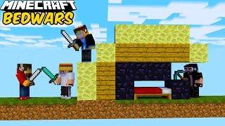 BEDWARS #07 - SOJUSZ WYSP NA JEDNEGO KOKSA! | Minecraft Vertez