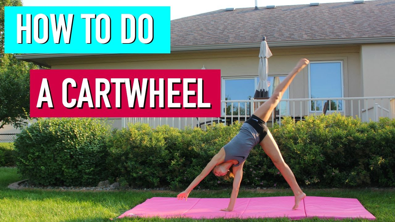41ef3f34b80 Beginner Gymnastics  How to do a Cartwheel - YouTube