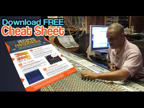 [FREE MIXING CHEAT SHEET[ Common Problem Frequencies - walkthrough