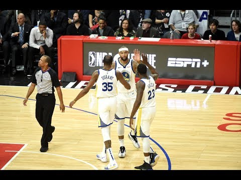 DeMarcus Cousins' DEBUT With The Golden State Warriors | January 18, 2019