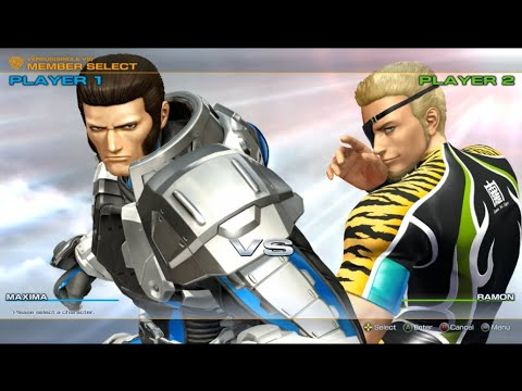 The King of Fighters XIV Steam Edition - Maxima VS Ramon |