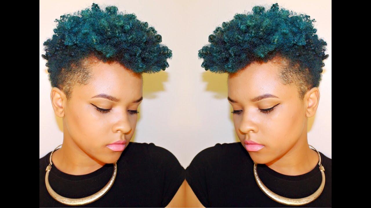Blue Dye On Natural Hair