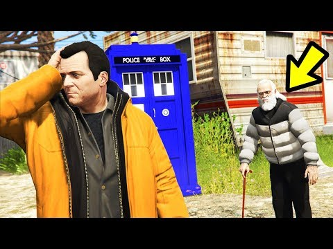 Playing GTA 5 as a TIME TRAVELLER!! (Part 2)
