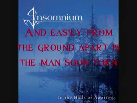 Song of the storm - Insomnium  !!!LYRICS!!!
