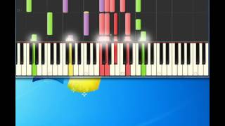 Carly Simon   Nobody Does It Better [Piano tutorial by Synthesia]